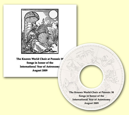 CD cover - SCA Known World Choir at Pennsic 38