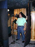 image of richie in the vocal booth